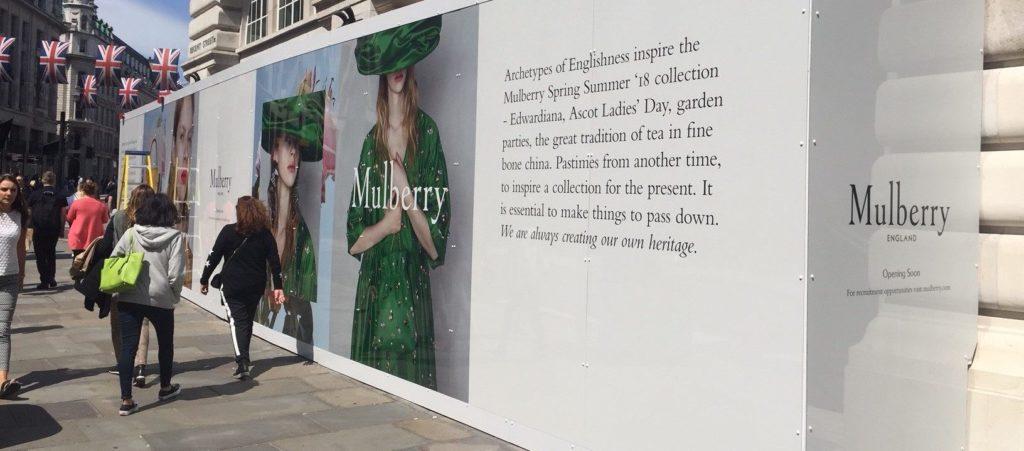 Mulberry-Hoarding-Regent-Street